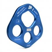 Placa de Ancoragem Alumínio com 3 + 1 furos 25KN NBR - SideUp
