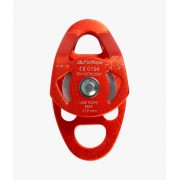 Polia Dupla Compact Alumínio com Placas Oscilantes 28KN (CE EN) - FOR ROPE