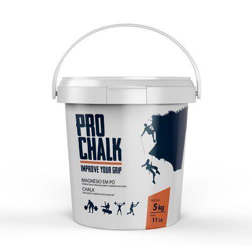 Carbonato Magnésio Pro Chalk 5 kg (Escalada, Ginastica, Crossfit)
