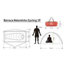 BARRACA NATUREHIKE CYCLING ULTRALIGHT 1P