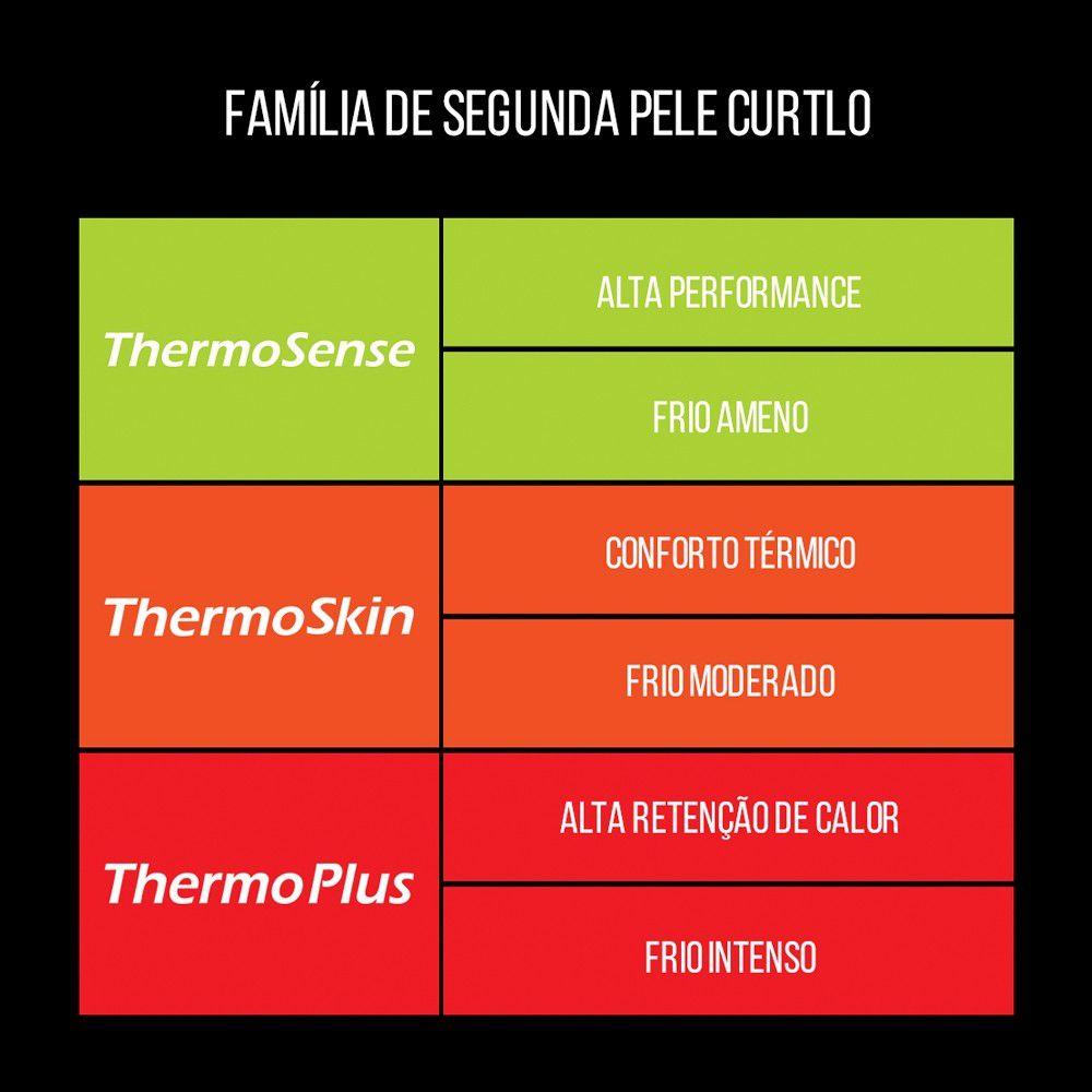 Calça Segunda Pele Masculina/Preta - Thermo Skin Curtlo Última Peça TAM G