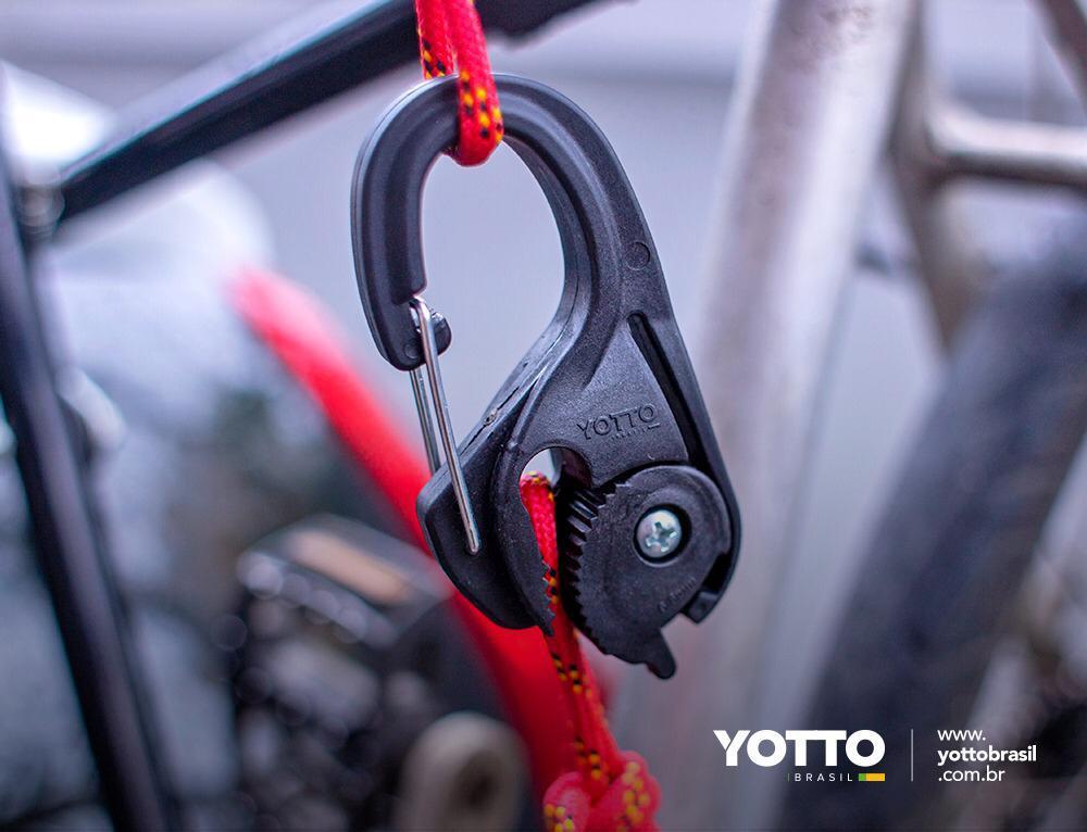 Gancho Tensor Yotto X4 Duplo com Corda 3m. X 6mm.