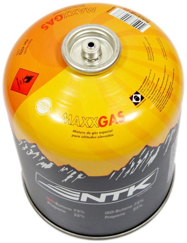 Gás para Fogareiro - Cartucho / Refil Maxx Gás Nautika 450g.