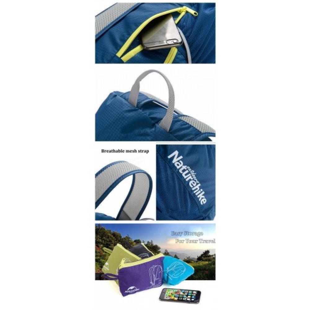 Mochila Folding Bag 22L. Naturehike (Mochila Dobrável)