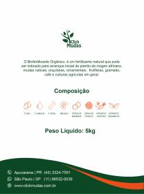 Biofertilizante Orgânico - 1kg