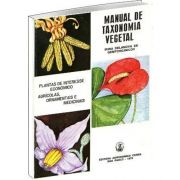 Livro Manual de Taxonomia Vegetal
