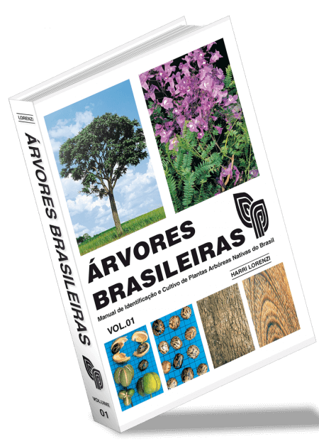 Árvores Brasileiras | Volume 01 - Harri Lorenzi