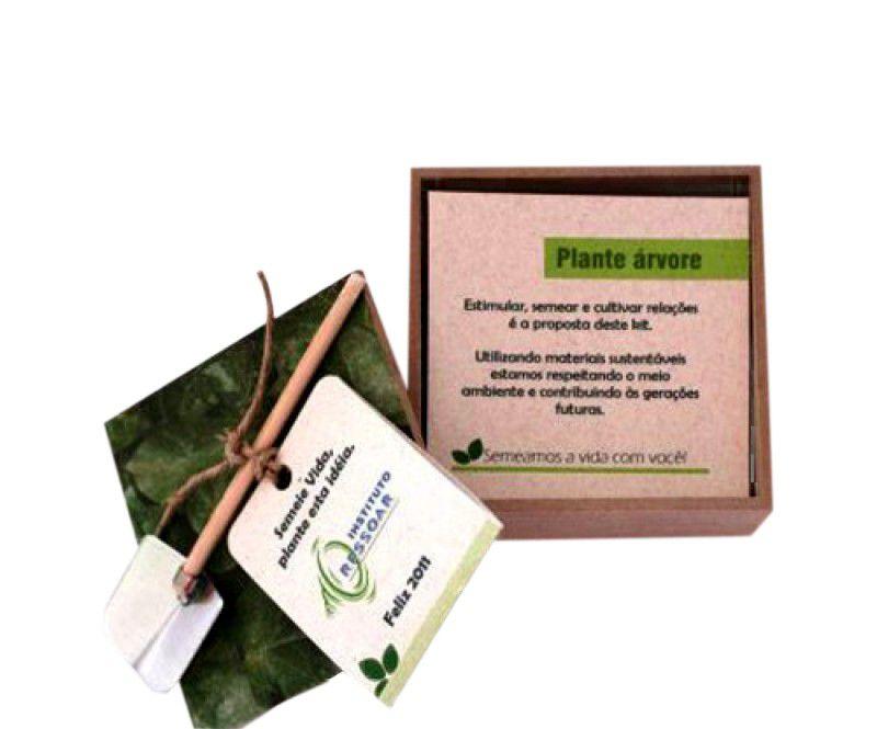 Caixa Ecológica em Kraft