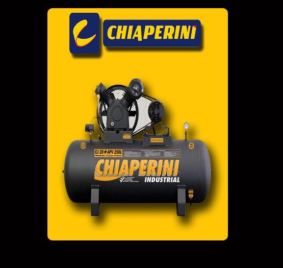 Compressor de Ar 20 Pés 250 Litros Trifásico Alta Pressão Industrial 20+APV 20/250L - CHIAPERINI-690