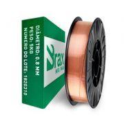 Arame de Solda MIG 0,8 mm Rolo de 15 Kilos - BRAX SOLDAS