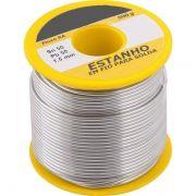 Carretel Estanho 500gr 1,5mm Resina Amarela - Soft Metais