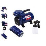 Compressor de Ar Direto Bivolt com Kit para Pintura - LOYAL-LC-500