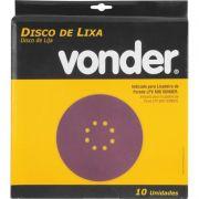 Disco de Lixa Grão 60 para Lixadeira LVP600 - VONDER