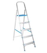 Escada Aluminio Dupla 5 Degraus - Agata