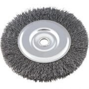 Escova de Aço carbono 06 X 01 X 1/2 Circular - USITEC