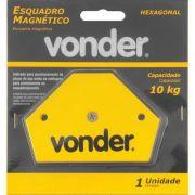 Esquadro magnético para solda 10 kg - Vonder