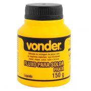 Fluxo de Solda para Prata 150 gm - Vonder