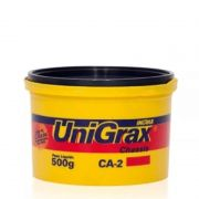 Graxa Amarela 500 gm Unigrax - INGRAX GRAXAS E LUBRIFICANTES