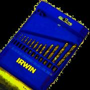 Jogo de Brocas Para Metal 1,5 A 6,5mm 1865311 Irwin 13 Peças