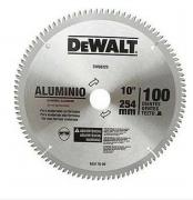 Lâmina De Serra Esquadria Aluminio 10 De 80 Dentes Dewalt dwa03220