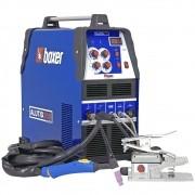 Máquina de Solda para Soldar Alumínio Bivolt ALUTIG 200 ACDC Boxer com Pedal e Tocha