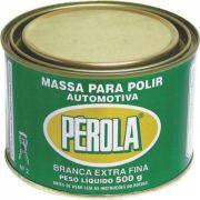 Massa Para Polir Branca Extra Fina Nª 2 Pérola 500gr