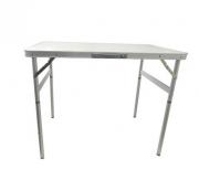 Mesa Dobrável em Alumínio com Tampo de MDF 90 x 60 cm - PALISAD-695838