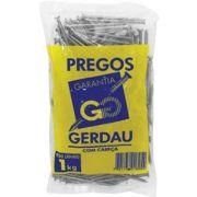 Prego C/ Cabeça 24 X 60 MM - 1 Kg - Gerdau Aços Longos