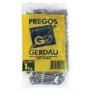 Prego C/ Cabeça Dupla 18 X 27 MM - 1 Kg - Gerdau Aços Longos