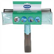 Rodo limpa vidros spray 3 em 1 com reservatório
