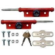 Trava Porta aço lateral alumínio n 04 - Tetra - Estilofer