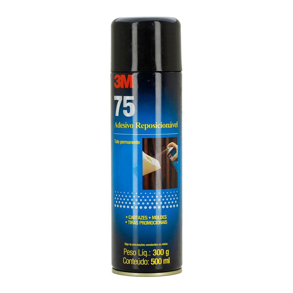 Adesivo Cola Spray 75 3M Reposicionável 500ml