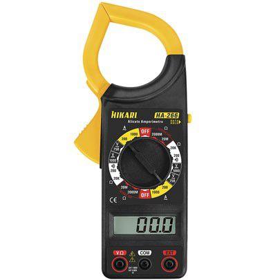 alicate amperimetro digital
