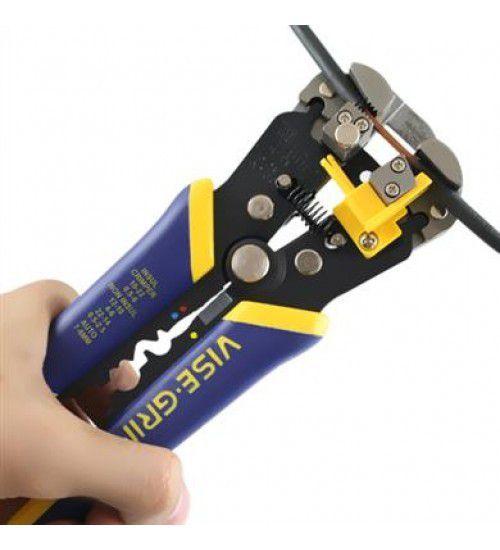 "Alicate Eletricista Desencapador De Fios 8"" Pol. 2078300 Vise Grip - IRWIN"
