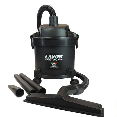 Aspirador de Pó e Água 14 Litros 1250W 220V Power Duo New - Lavor