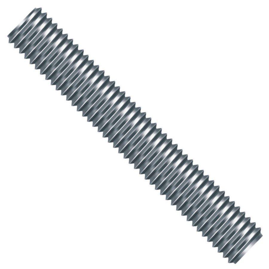 Barra Roscada (UNC) 1/4 x 01 MT Zincada