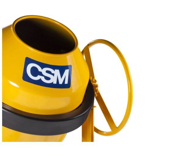 Betoneira CS 120 litros monofásica 127V amarelo CSM