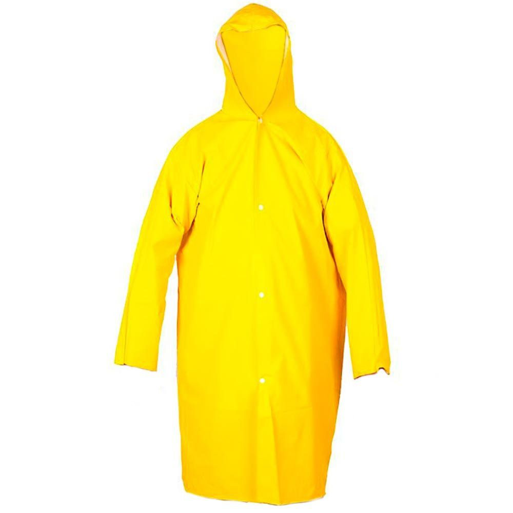 Capa de Chuva Amarela Forrada GG