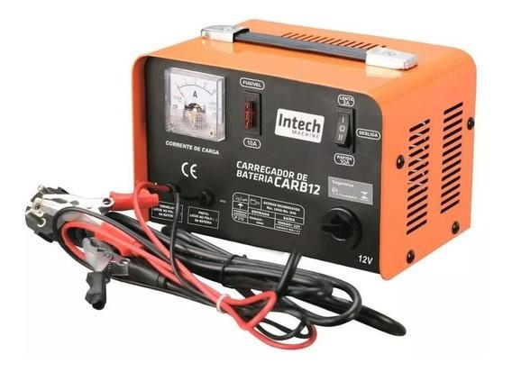 Carregador De Bateria 12v 10 A 100 Amp 110v Intech Machine