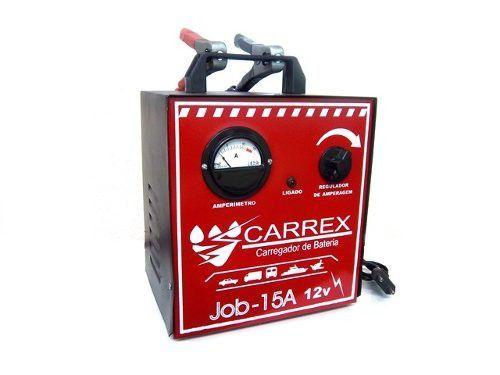 Carregador de Bateria Selado 15A JOB - CARREX