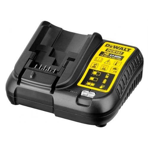 Carregador de Baterias 12 a 20V Lithium Bivolt - DEWALT DCB107-BR