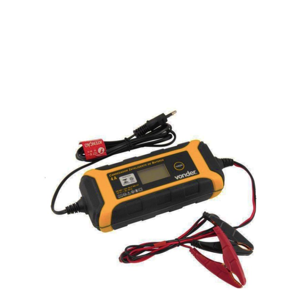 Carregador Inteligente de Bateria Cib080 127v Vonder