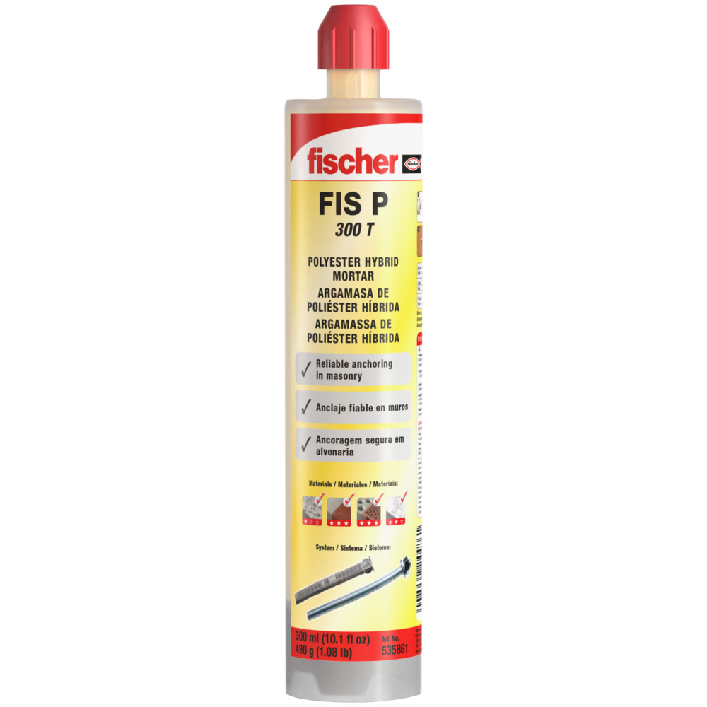 Chumbador Bucha Quimica FIS P 300 T - Fischer