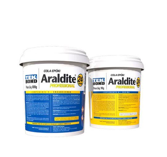 Cola Araldite Profissional Res/Endurec 1,8Kg