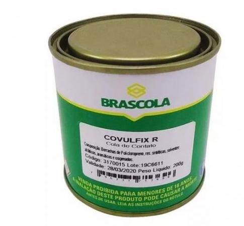 Cola De Contato Covulfix R 200g Brascola