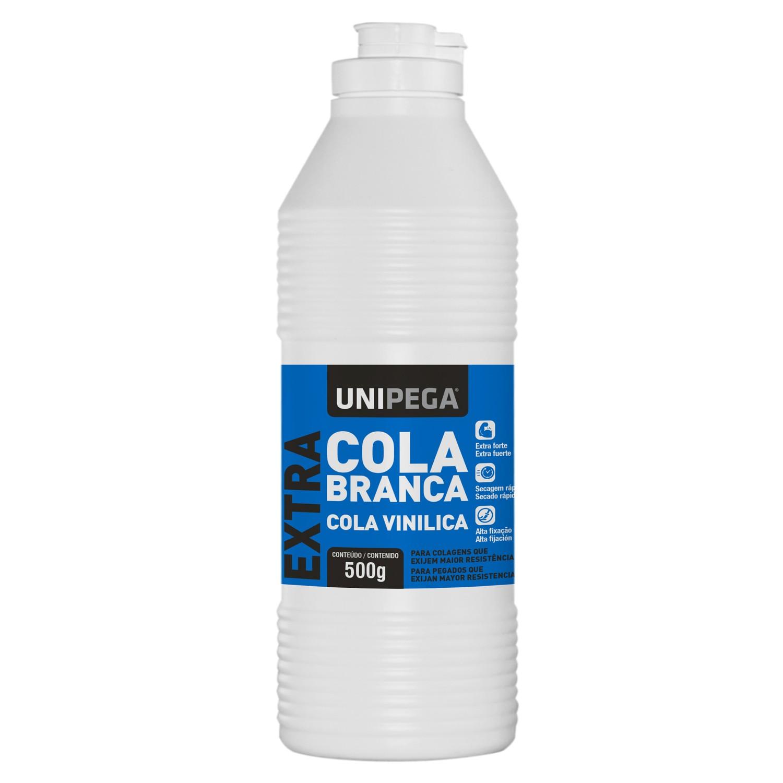 Cola Extra Forte Branca para madeira  500 gramas - UNIPEGA