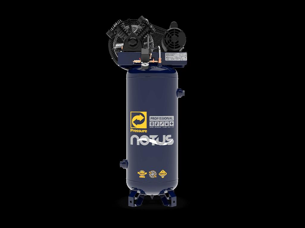 Compressor de Ar Vertical Notus 100L 2HP 110/220V Bivolt