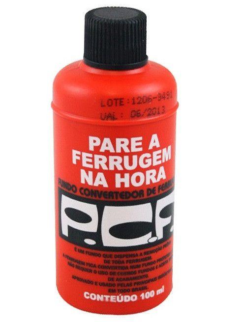 Convertedor de Ferrugem PCF 100 ml - QUIMATIC