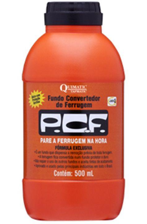 Convertedor de Ferrugem PCF 500 ml - QUIMATIC