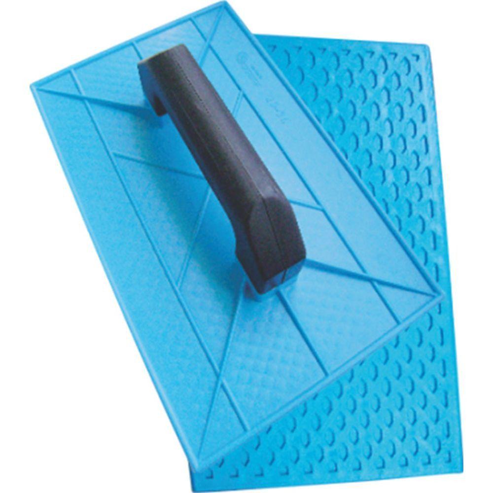 Desempenadeira Plástica de Superficie Corrugada 30 X 18 CM - Giraldi